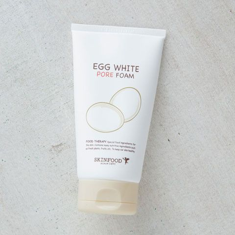 SKINFOOD Egg White Pore Foam | $16 | Korean cleanser | got some from Korea trip