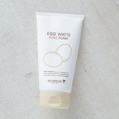 SKINFOOD Egg White Pore Foam | $16 | Korean cleanser | got some from Korea trip