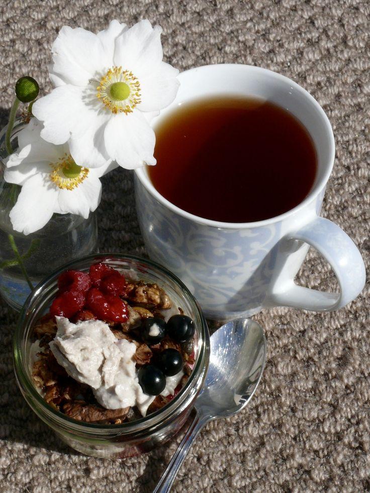 Breakfast to Desert – Cashew Nut, Coconut Chia Cream