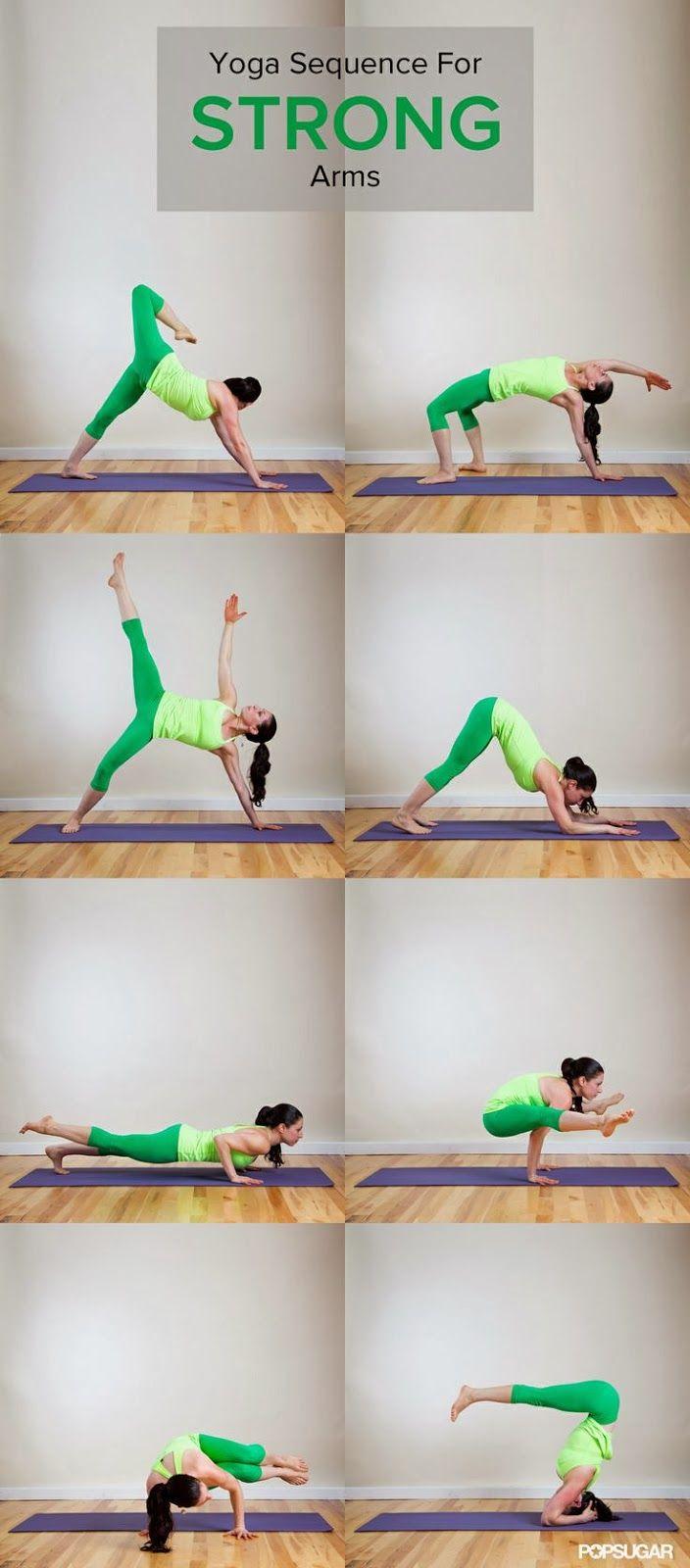 Sterke armen door yoga