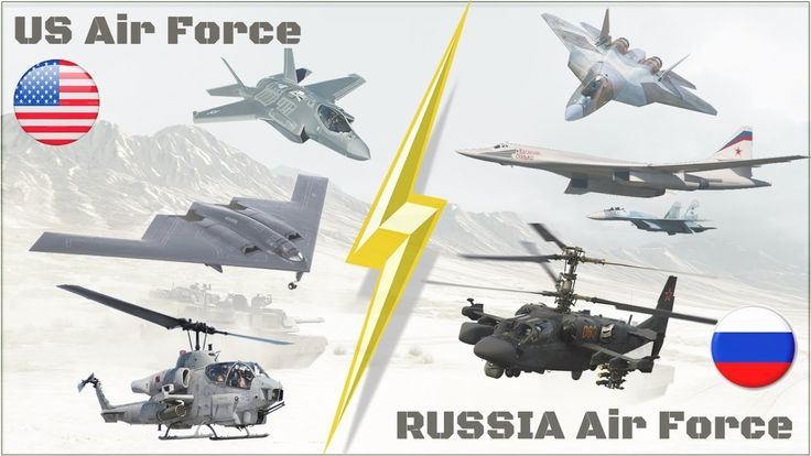 US Air Force VS Russian Air Force Compare