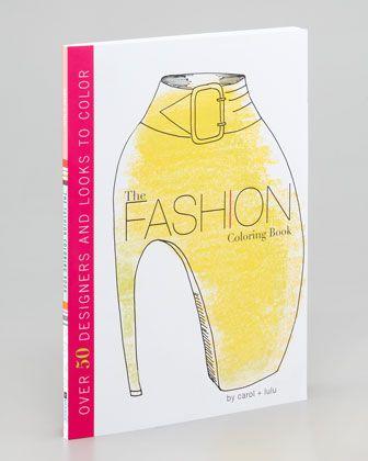 Fashion Coloring Book - Neiman Marcus
