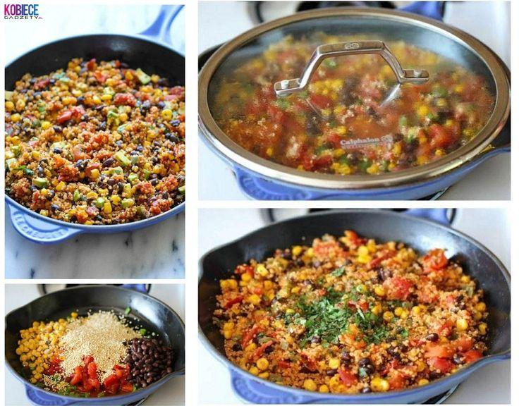 Meksykańskie danie jednogarkowe... Super pomysł na szybki obiad!!!