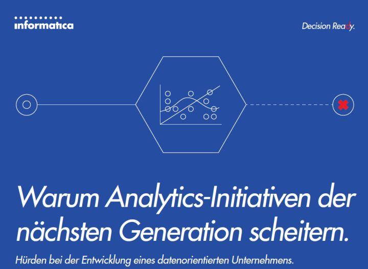 White Paper: Warum Analytics-Initiativen der nächsten Generation scheitern
