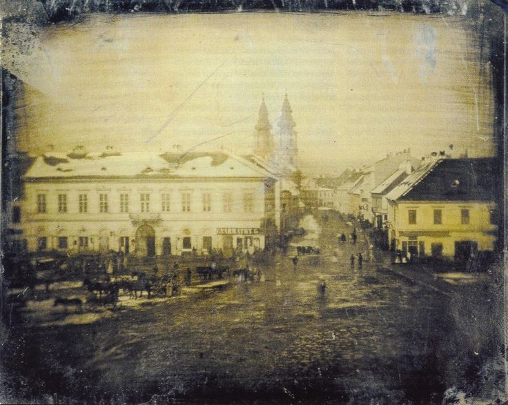 The oldest photo ever taken of Budapest, c. 1840-1860