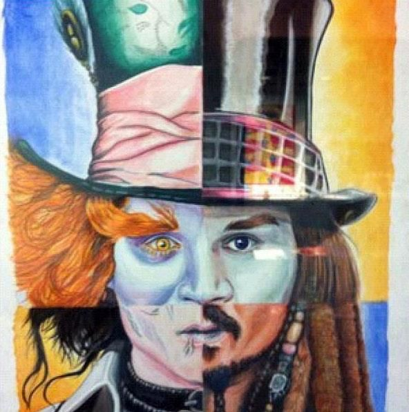 Meu artista predileto Johnny Depp e suas multifacetas.