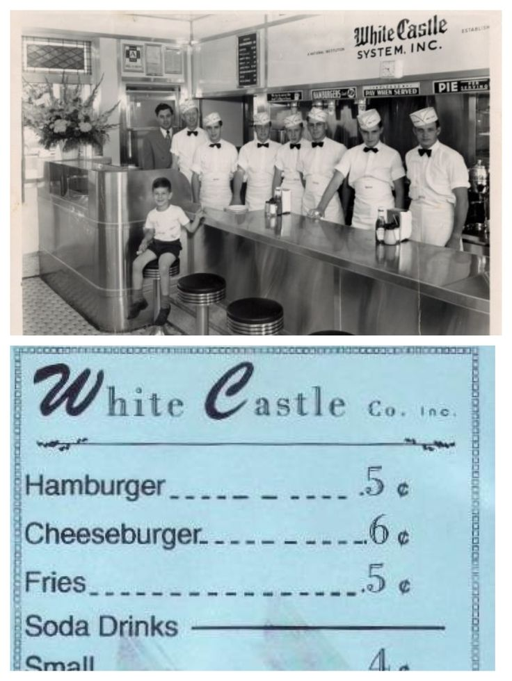 I remember going to White Castle in Lebanon when I was little.  It was just a little hole in the wall and we would get cokes in glass bottles with our burgers.  Best burgers ever and sitting on the stool at the counter was great.