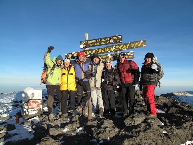 Uhuru Peak!! What an achievement it was.. #Mountain #Climbing #Kilimanjaro #Kenya #Africa
