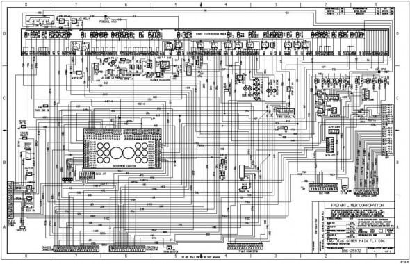 Freightliner Truck Wiring Schematics - Wiring Diagram ... on