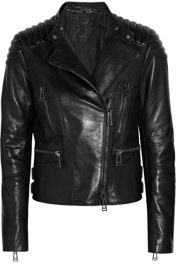 Belstaff|Sidney leather biker jacket |NET-A-PORTER.COM