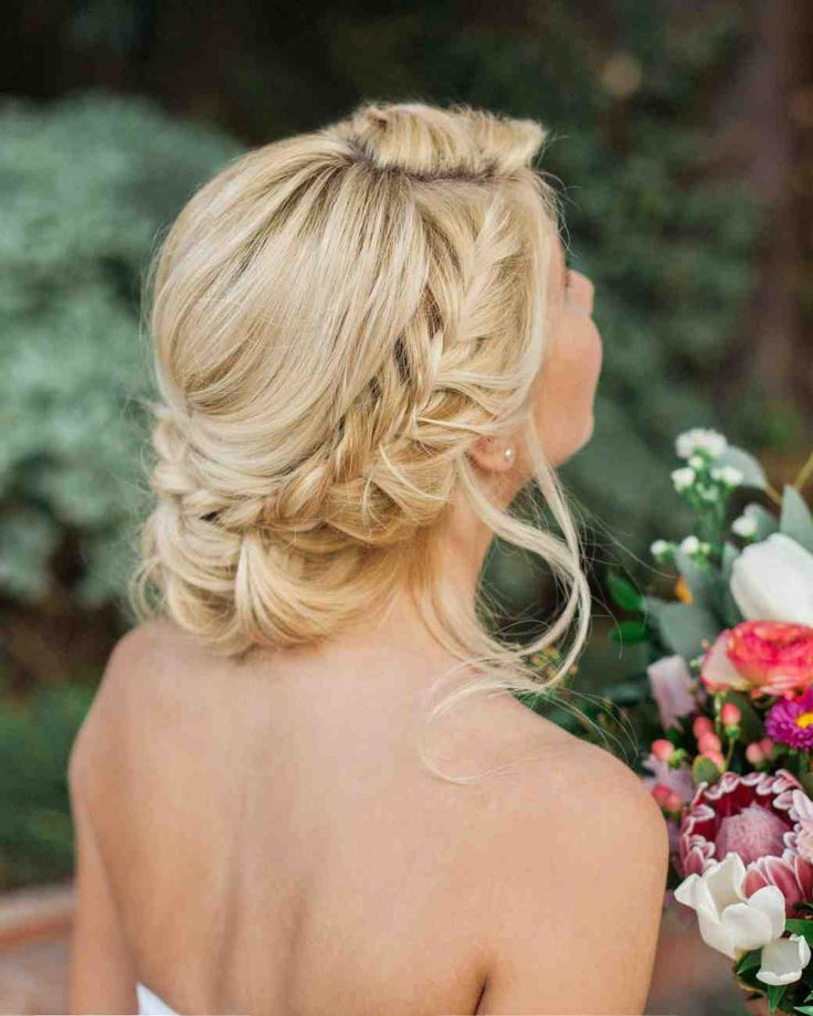 10 Ways to Upgrade the Wedding Braid | Martha Stewart ... - photo #22