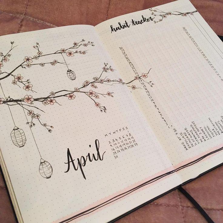 ungefähr im April! 🤗🌸🌸🌸 #bujo #bujoweeklyspread #bujoideas #bujoinspire #bujoinspiration