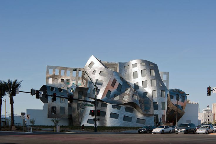 frank gehry. cleveland clinic lou ruvo center for brain health.