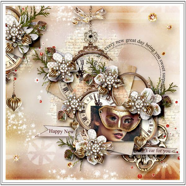 """Kit """"In the new Year"""" by Sekada http://www.digitalscrapbookingstudio.com/personal-use/kits/in-the-new-year-full-kit/  http://store.scrapgirls.com/In-The-New-Year-Collection.html WA of the kit """"Dandelion Dreams"""" by Dido designs   Photo by Elizaveta Morjak - FashionBank.ru"""