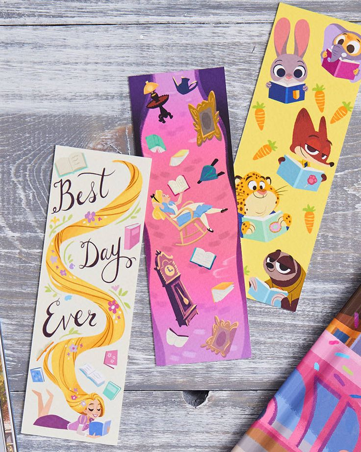 8 Adorable Disney Bookmarks You Can Print Right Now