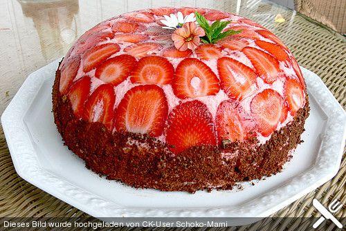 Erdbeerjoghurt - Kuppeltorte