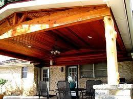 Fantastic covered patios