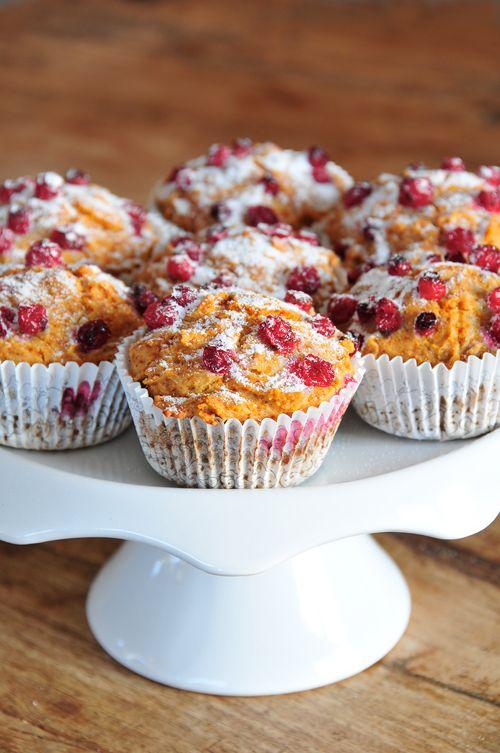 Johannisbeer-Muffins glutenfrei, vegan & fructosearm