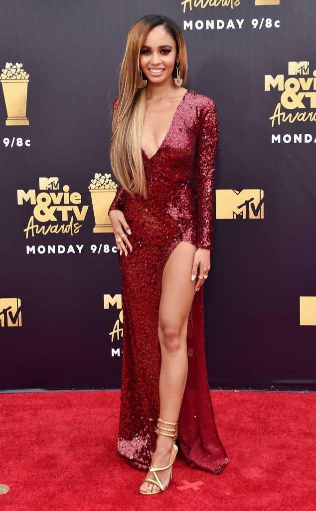 Vanessa Morgan From Mtv Movie Tv Awards 2018 Red Carpet Fashion