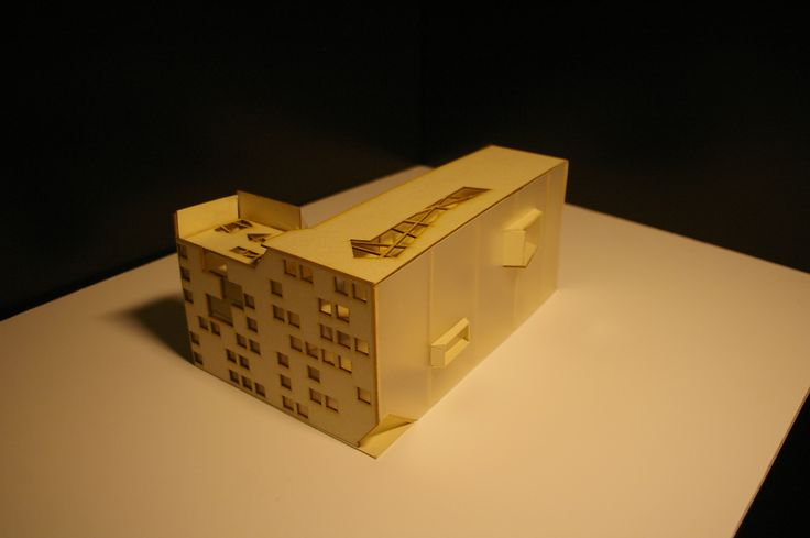 #bezzeccahouse - Social Housing in Milan - Model - with Mario Loffredo and Giovanni Mandelli