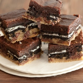 Slutty Brownies...I have to make these just because of the name !! haha