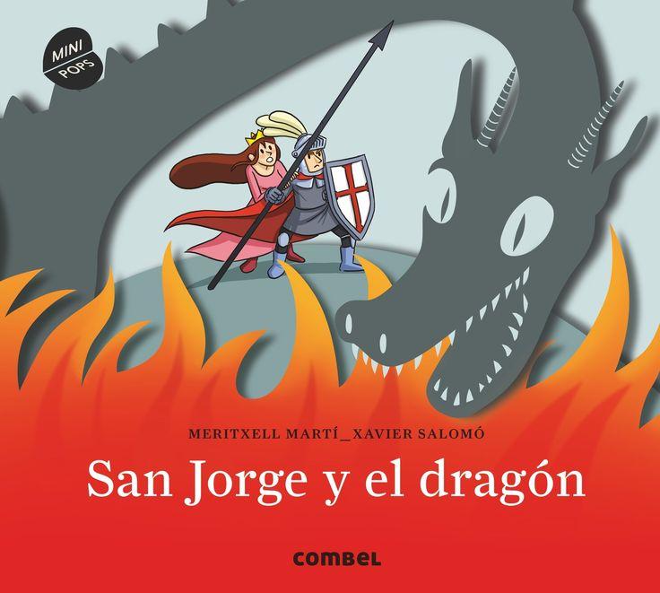 """""""San Jorge y el dragón"""" - Meritxell Martí (Editorial Combel)"""