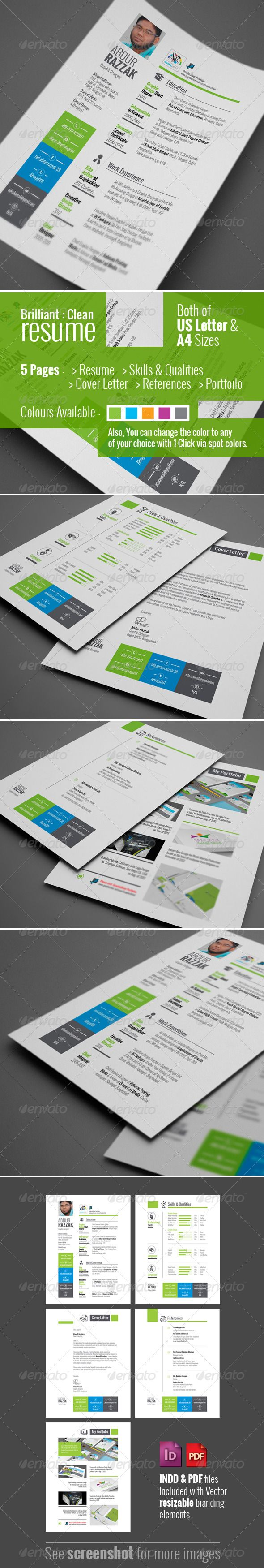 91 Best Resume Design Images On Pinterest
