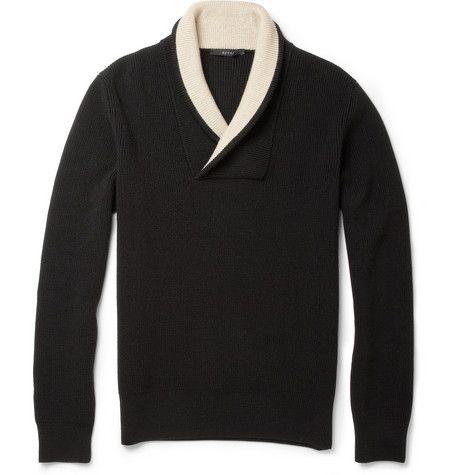 Gucci Shawl-Collar Wool Sweater | MR PORTER
