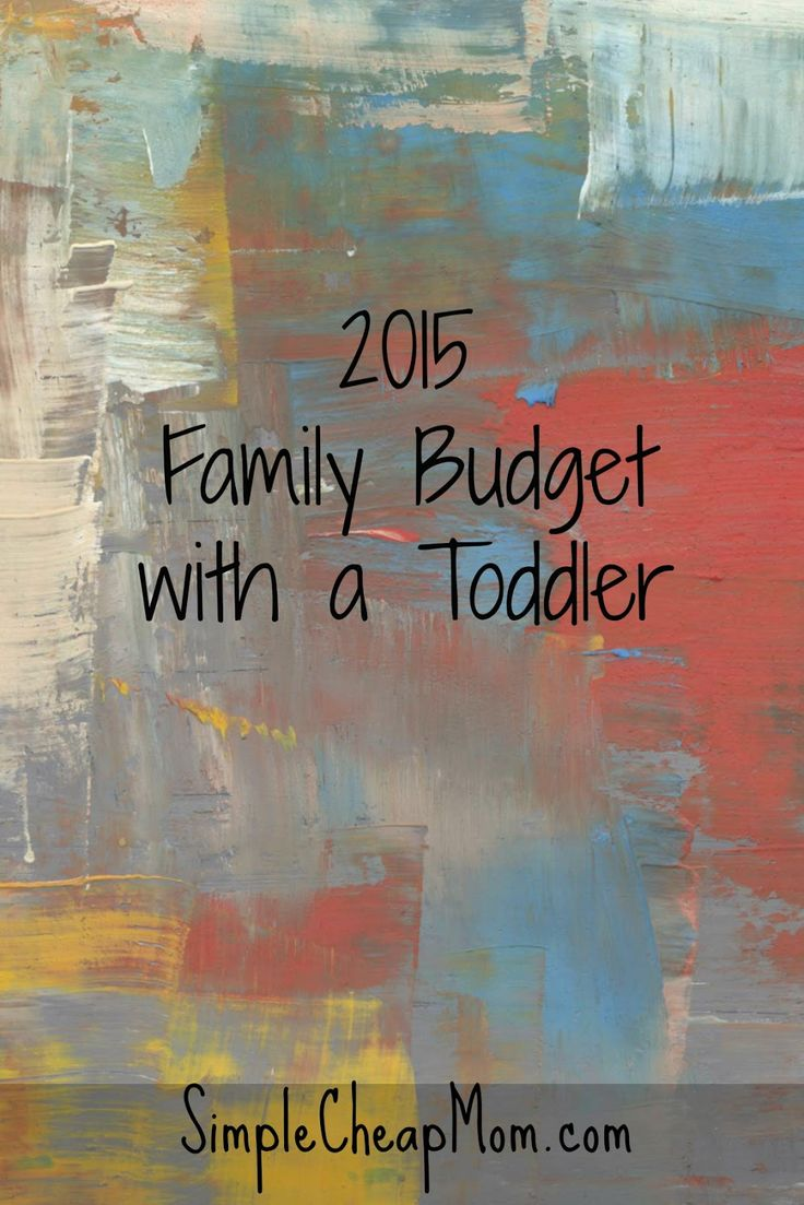 2015 Budget for a Family with a Toddler
