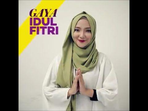 Tutorial 5 Gaya Hijab Terbaru 2016 - Model : Ayu Indriati