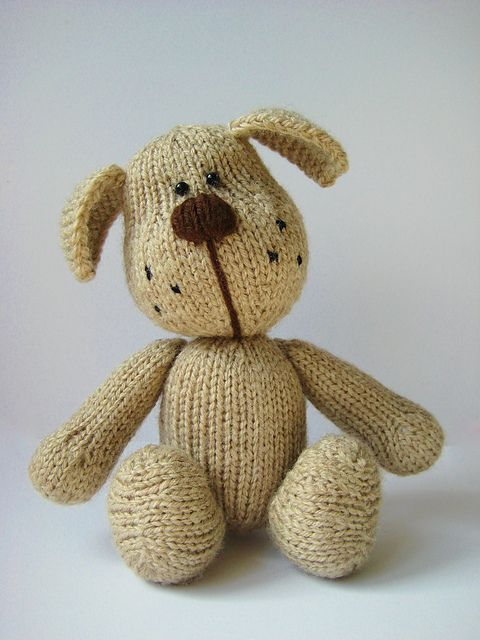 Knitting Patterns For Toy Dogs : 17 Best images about Knitting toys on Pinterest Toys, Ravelry and Knits
