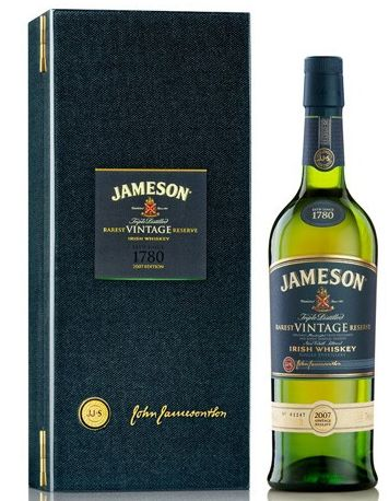 Jameson Rarest Vintage Reserve Irish Whiskey (Engraved Bottle); The king of the Jameson whisky family is clearly the Jameson Rarest Vintage Reserve Blended Irish whisky | spiritedgifts.com