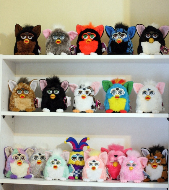 Furby Invasion by Cat Gabriel Art, via Flickr #furby #hasbro