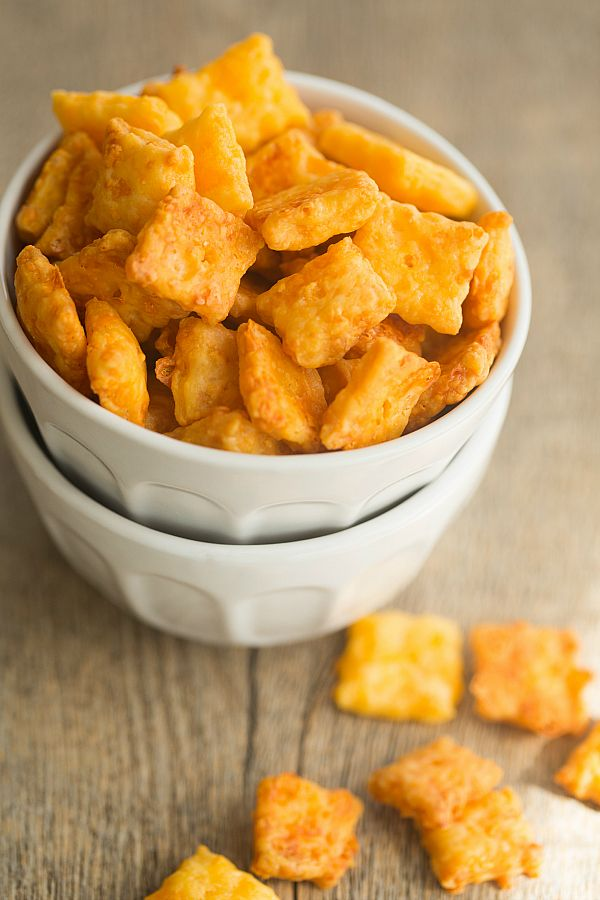 Homemade Cheez-Its - Brown Eyed Baker - A Food & Cooking Blog