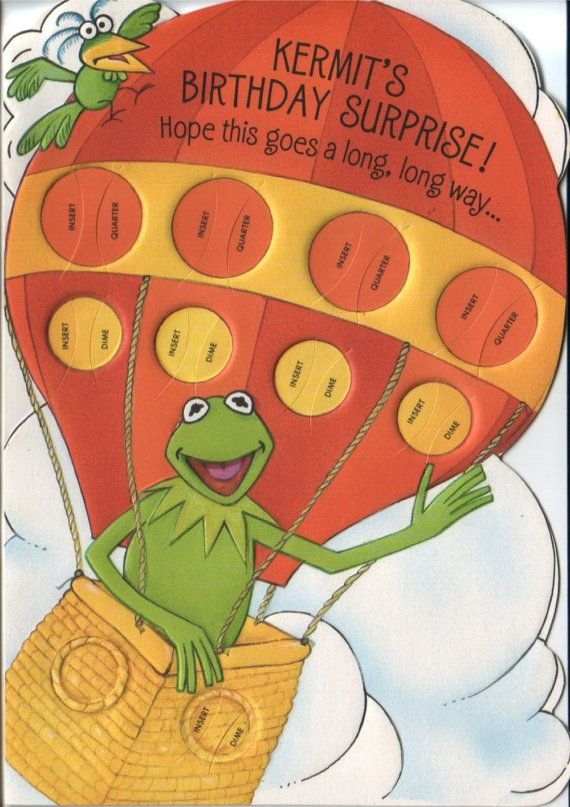191 best images about Muppet Items – Muppet Birthday Card