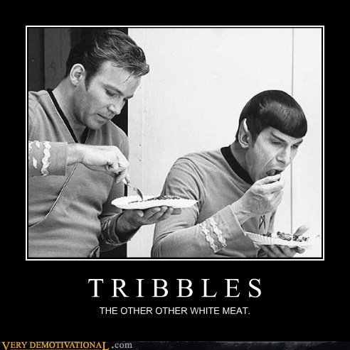 They are truly delectable.: Lunches Break, Stars Trek, Movie, Startrek, Williams Shatner, Leonard Nimoy, Spock, Sci Fi, Paper Plates