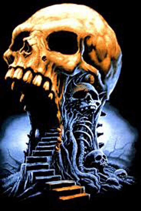 Tattoo inspiration skull love it pinterest for Inked temptations tattoo studio