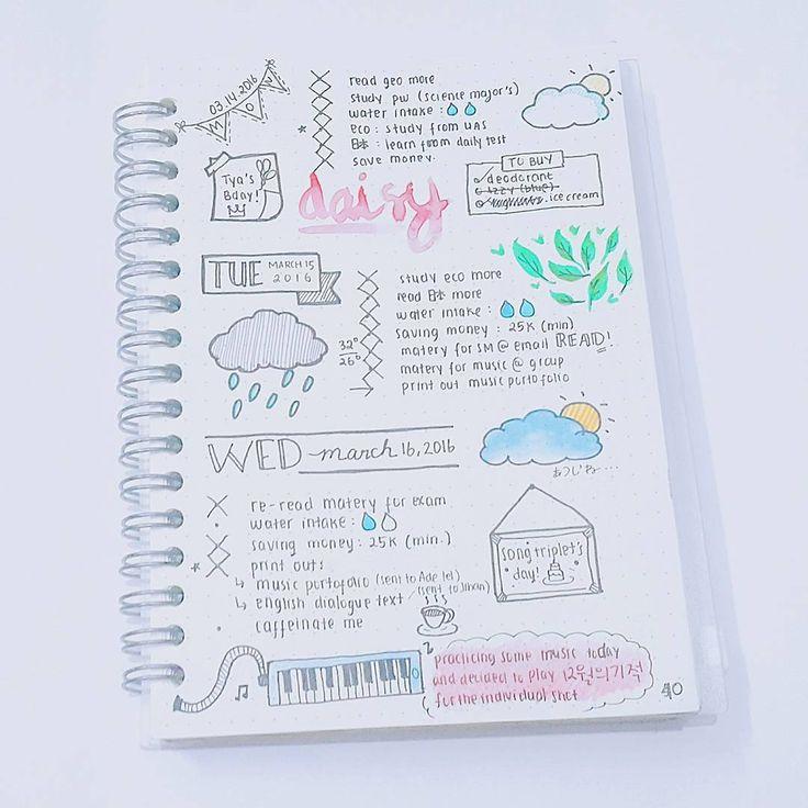 Beautiful billet journal