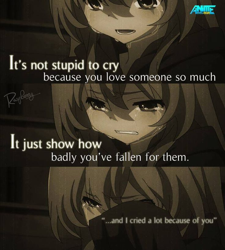 Anime: ToraDora I think a lot of us have had this happen before