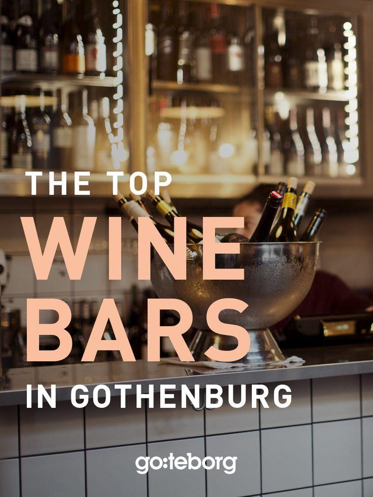 Top 10 wine bars in Gothenburg, Sweden