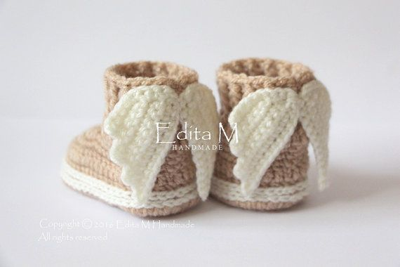 Hey, I found this really awesome Etsy listing at https://www.etsy.com/listing/467653398/crochet-baby-booties-baby-shoes-boots