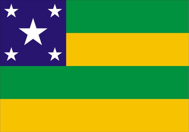 Bandeira do Estado de Sergipe | Sergipe Flag