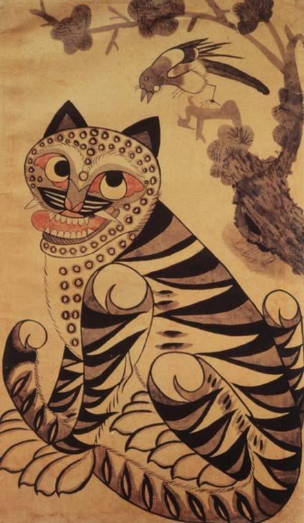 korea folk painting