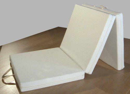 Futon colchón, plegable, ahorro de espacio, plaza individual 80x200 cm