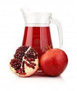 Shrink tumors by drinking pomegranate juice.