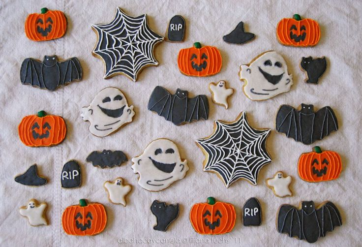 THREE WAYS TO MAKE SPOOK-TACULAR HALLOWEEN COOKIES ...