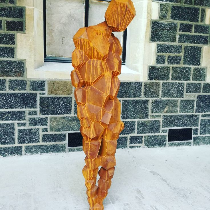 Art at Christchurch Arts Centre - Sir Anthony Gormley's Stay