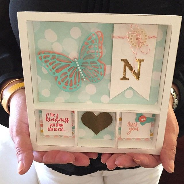 """I made this mini printer tray project for my roomie, Norma  #stampinup Leadership"""