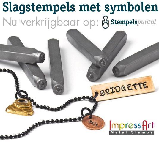 ImpressArt Slagstempels met symbolen zijn nu verkrijgbaar op stempels.nl http://www.stempels.nl/slagstempels-symbolen-c-602_468_666.html