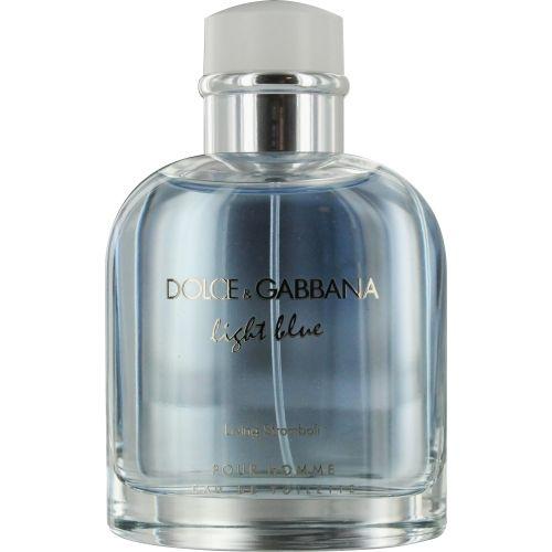 D & G LIGHT BLUE LIVING STROMBOLI POUR HOMME by Dolce & Gabbana EDT SPRAY 4.2 OZ (UNBOXED)  $49.43